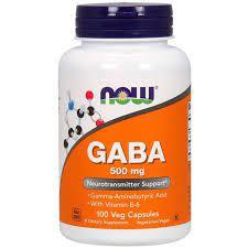Now Foods Gaba 500mg (100 cápsulas) -