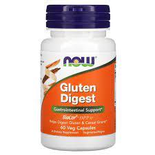NOW Foods, Gluten Digest, 60 Cápsulas Vegetais