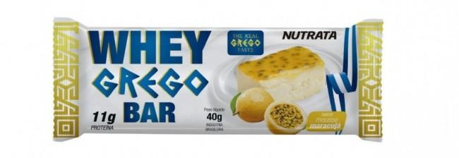 NUTRATA WHEY GREGO BAR (40G)