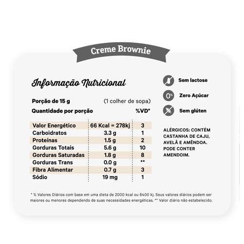 NUTRÍSSIMA - CREME BROWNIE 450G