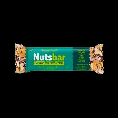 NUTS BAR Barra de Cereal - (sabores)  - 25g
