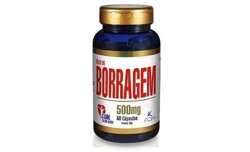 Óleo de Borragem - 60 cap