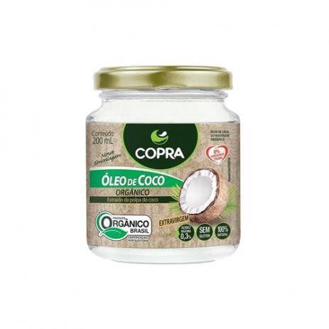 Óleo de Coco Orgânico extra virgem Copra 200ml
