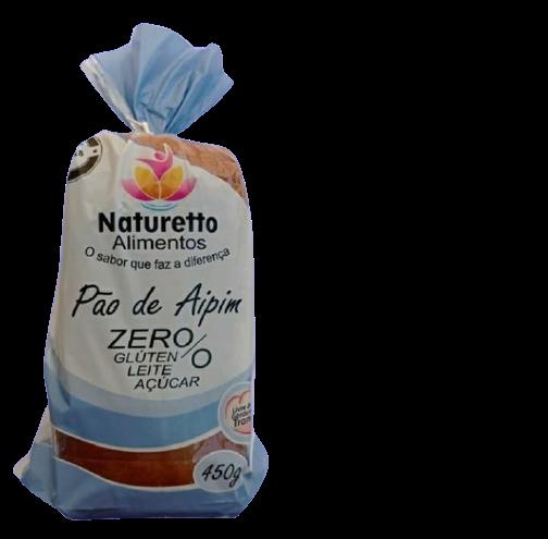Pão NATURRETO   SEM glúten  SEM lactose e Sem açúcar -(envio restrito  Guaramirim e Jaragua do Sul -somente segunda ;quarta ; e sexta)