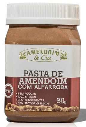 Pasta de Amendoim - Amendoim e Cia - 390g