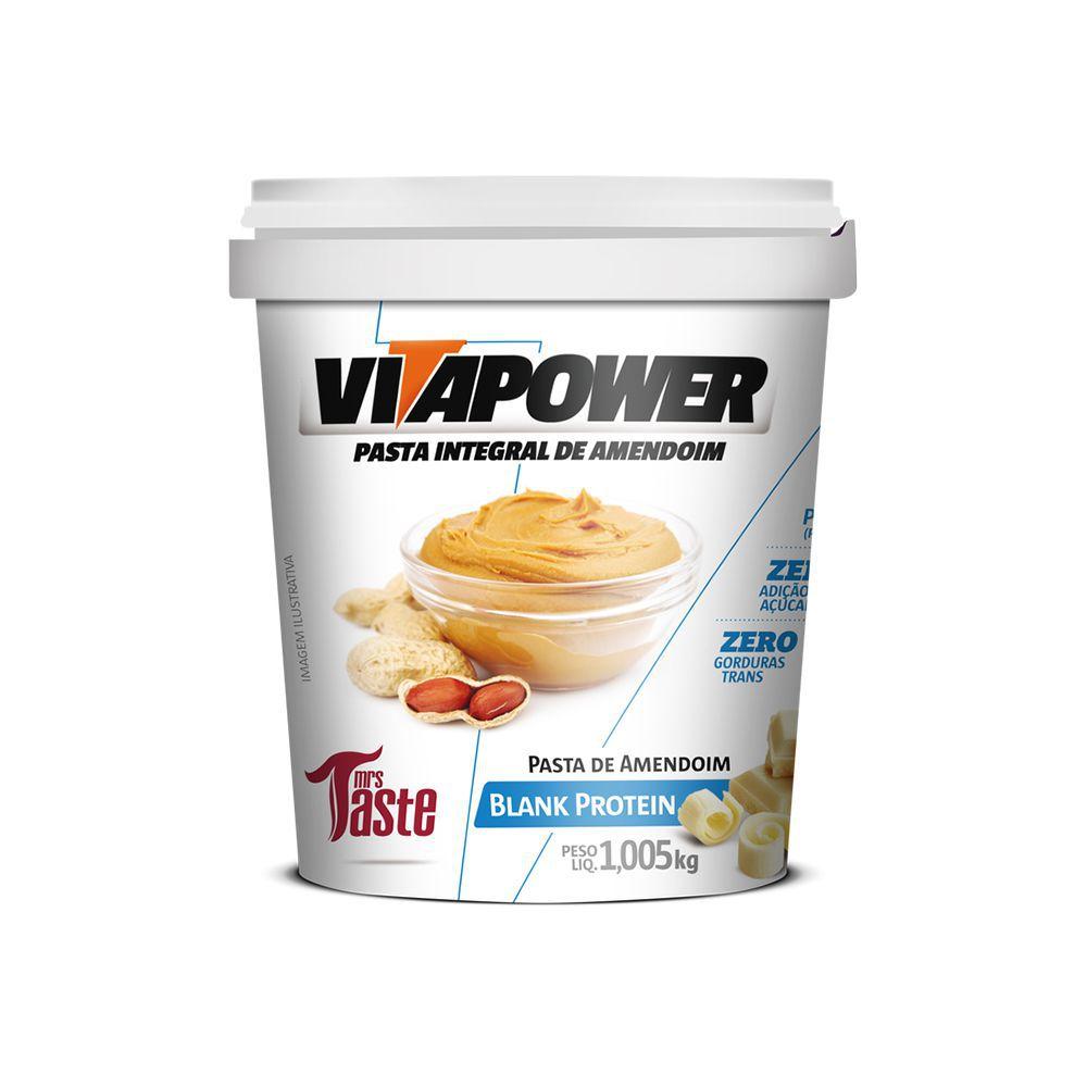 Pasta de Amendoim Integral Blank Protein - 1,005kg