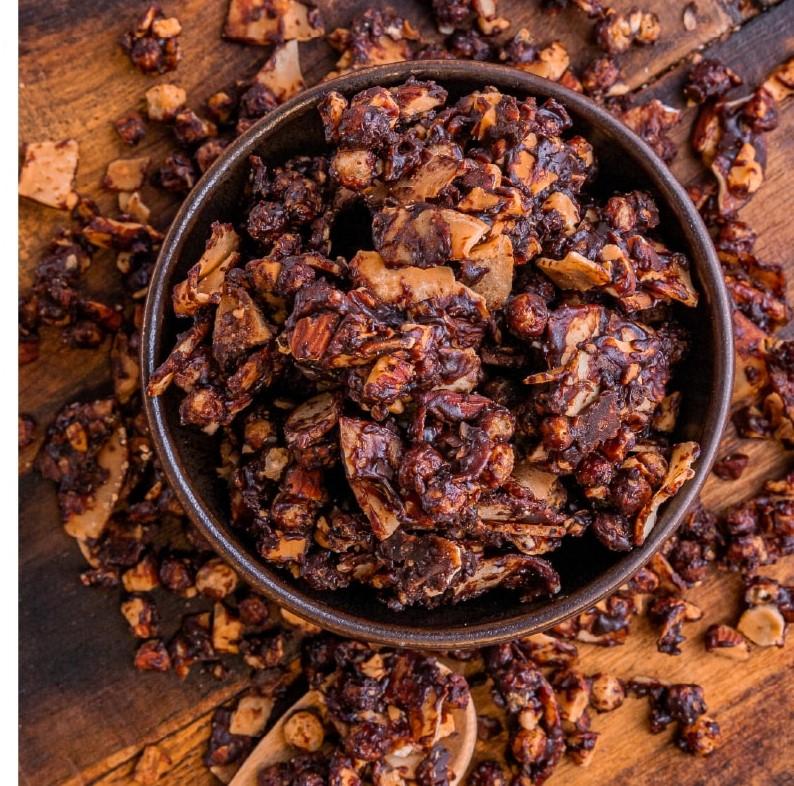 PURA VIDA COCONUT GRANOLA DARK CHOCOLATE 30G