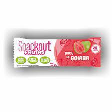 Snackout Frutas - Doce de Goiaba Barrinha-  30G