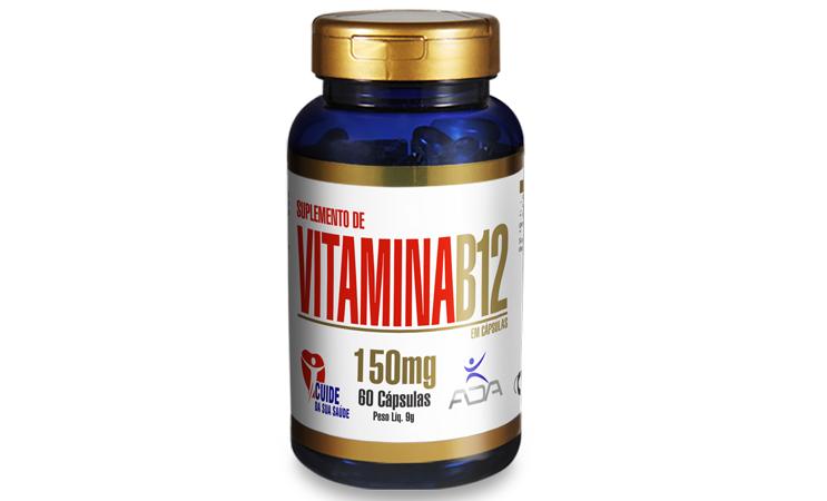 Sup. Vitamina B12 - 60 cap