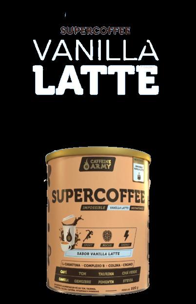 SUPERCOFFEE CAFFEINE ARMY VANILLA 220G