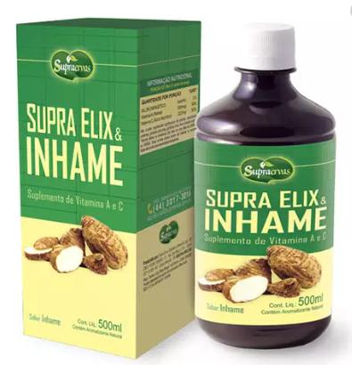 Supra Elix & Inhame SupraErvas 500ml