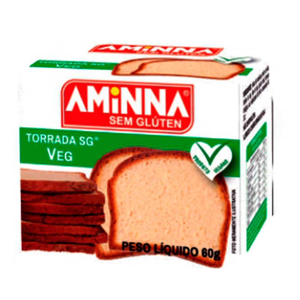 TORRADA VEGANA AMINNA - 60G