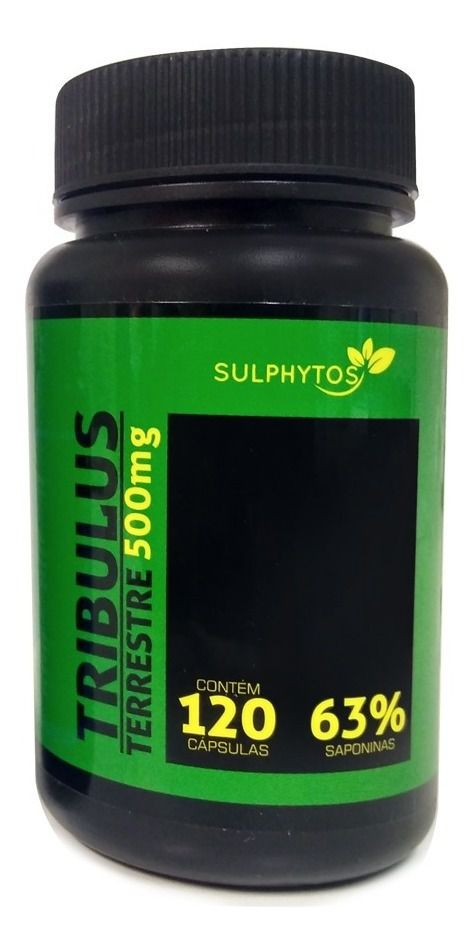 SULPHYTOS Tribulus Terrestre 500mg - 120 caps