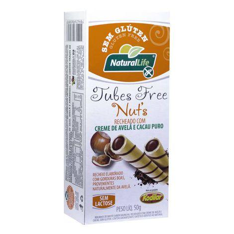 Natural Life Tubes Free s/ Glúten 50g