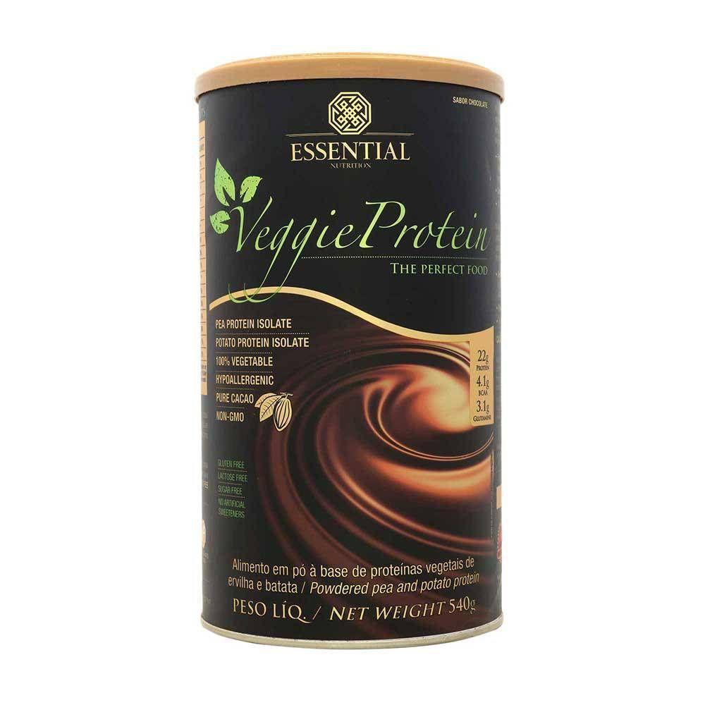 Veggie Protein (cacau) - 455g - Essential Nutrition