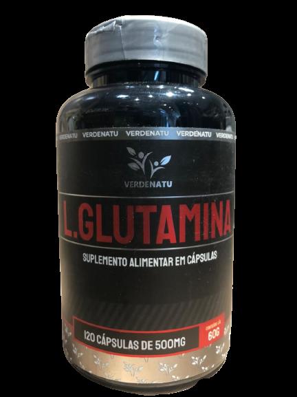 verdenatu l. glutamina 120 caps de 500mg