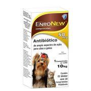 Antibiotico enronew 50mg World Pet Com 10 Comprimidos