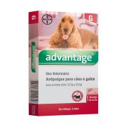 Antipulgas Advantage para Cães de 10 a 25kg - 2,5ml