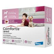 Antipulgas Comfortis 140mg - Cães De 2,3 a 4,5 kg e Gatos 1,4 a 2,8 kg