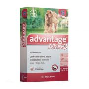 Antipulgas e Carrapatos Advantage Max 3 Caes Bayer 10 A 25kg