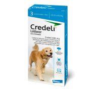 Antipulgas E Carrapatos Credeli para Cães 22 A 45kg - 3 Comprimidos