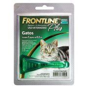 Antipulgas E Carrapatos Frontline Plus 0,5 ml - Para Gatos