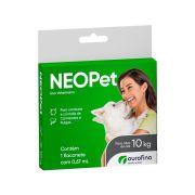 Antipulgas e Carrapatos Neopet Ourofino para Cães de até 10kg