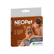 Antipulgas e Carrapatos Neopet para Cães De 20,1 Kg A 40 Kg