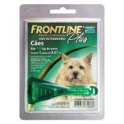 Antipulgas e Carrapatos Para Cães até 10 kg Frontline Plus 0,67 ml