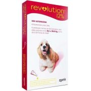 Antipulgas e Carrapatos Zoetis Revolution 12% Para Cães de 10 a 20 kg