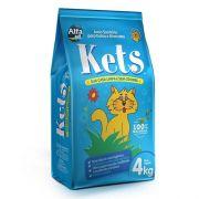 Areia Higiênica Kets para Gatos 4kg