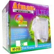 Filtro externo para Aquario Atman Hf - 0100 160 L/h 220v