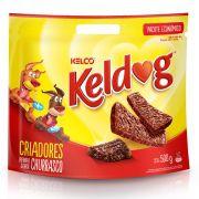 Petisco Keldog para Cães Bifinhos Criadores Churrasco 500g