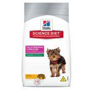 Ração Hills Science Diet Canino Filhote Raças Pequenas e Miniatura 3kg