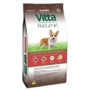 Ração Para Cães Vitta Natural Adultos Raças Pequenas Carne com Arroz 15 kg
