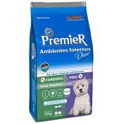 Ração Premier Cães Ambientes Internos Duo Adultos Sabores Cordeiro & Peru 12kg