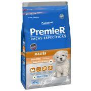 Ração Premier Cães Raças específicas Maltês Filhotes Sabor Peru & Arroz 1kg