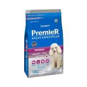 Ração Premier Cães Raças específicas Poodle Adultos Sabor Frango 1kg