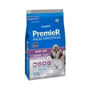 Ração Premier Cães Raças específicas Shih Tzu Adultos Sabor Frango 2,5kg