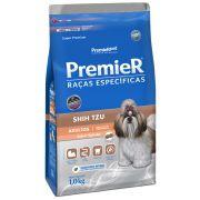 Ração Premier Cães Raças específicas Shih Tzu Adultos Sabor Salmão 1kg