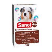 Sabonete Sanol Dog Coco para Cães 90g