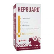Suplemento Alimentar Hepguard Cães Avert Com 30 Comprimidos