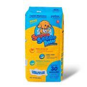 Tapete Higiênico Super Secão Baby Petix para Cães - 30 Unidades