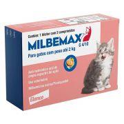 Vermífugo Elanco Milbemax G para Gatos de 0,5 a 2kg - 2 Comprimidos