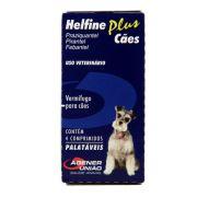 Vermifugo Helfine Plus para Cães - 4 Comprimidos