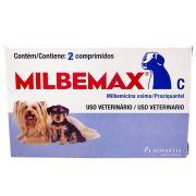 Vermífugo Milbemax C Novartis Cães até 5kg