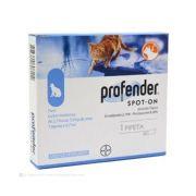 Vermífugo Profender SpotOn para Gatos entre 2,5 e 5,0kg