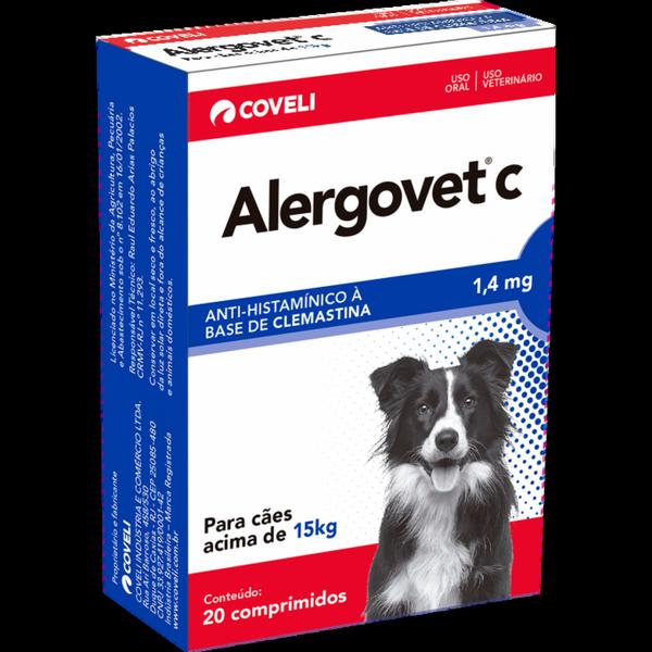 ALERGOVET C 1.4MG C20 CP