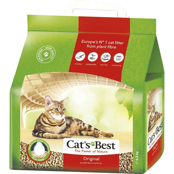 AREIA CATS BEST OKO PLUS 4.3KG