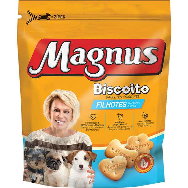 MAGNUS BISCOITO FILHOTES 200GR